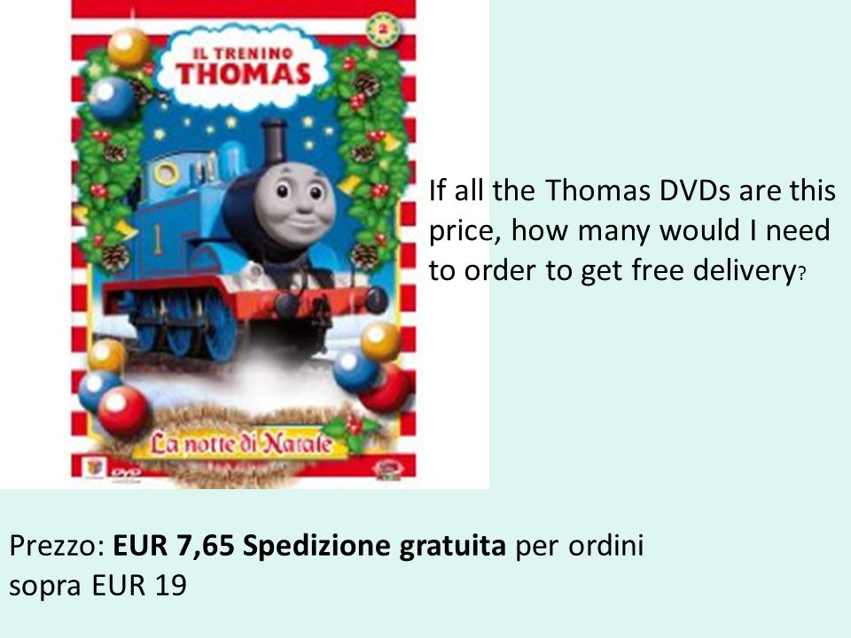 If all the Thomas DVDs are this