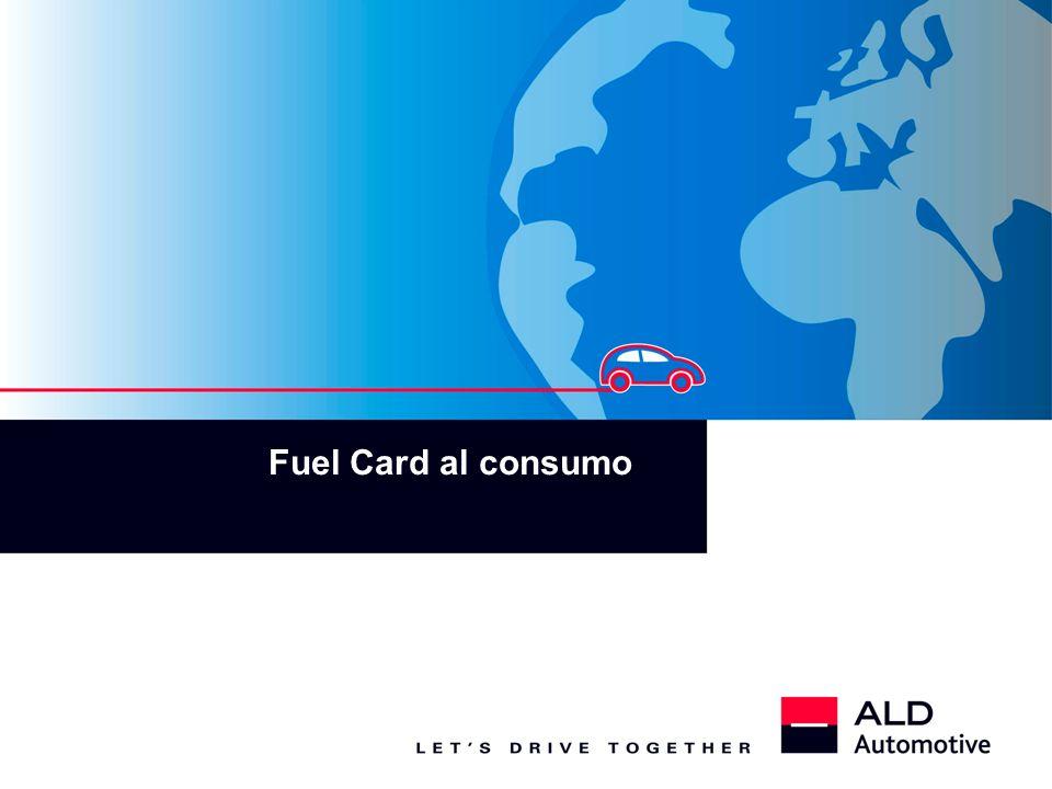 Fuel Card al consumo