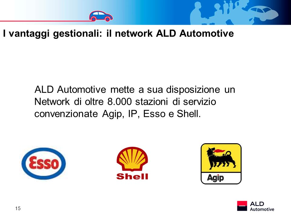 I vantaggi gestionali: il network ALD Automotive