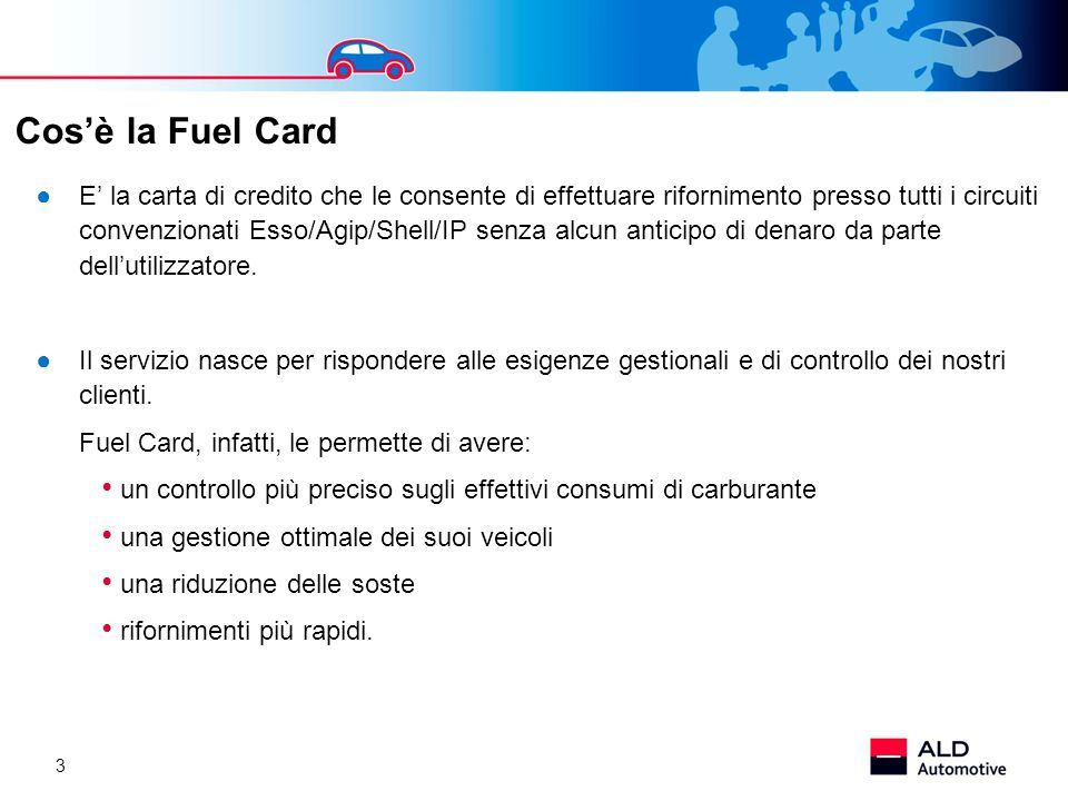 Cos'è la Fuel Card