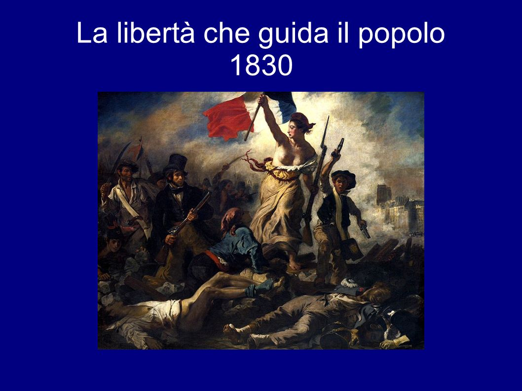 La libertà che guida il popolo 1830