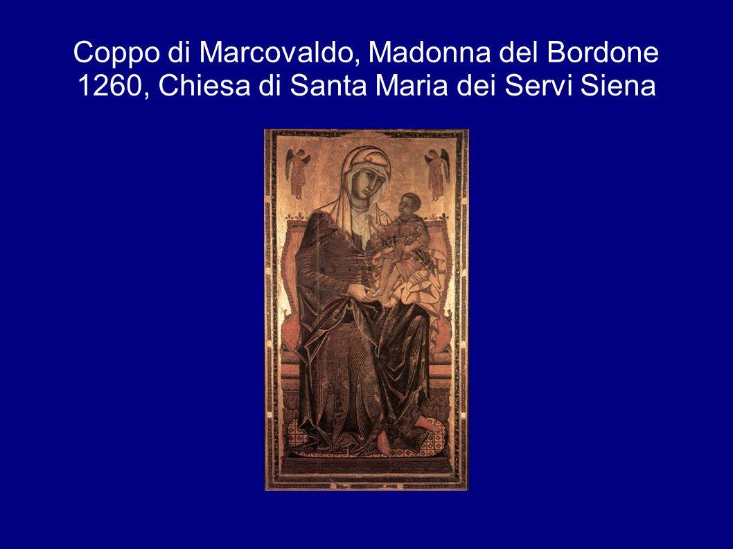 Coppo di Marcovaldo, Madonna del Bordone 1260, Chiesa di Santa Maria dei Servi Siena