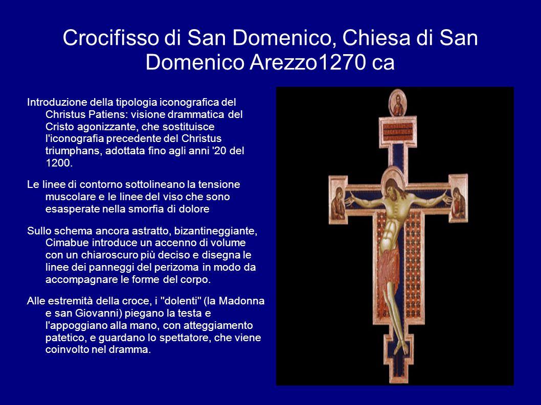 Crocifisso di San Domenico, Chiesa di San Domenico Arezzo1270 ca