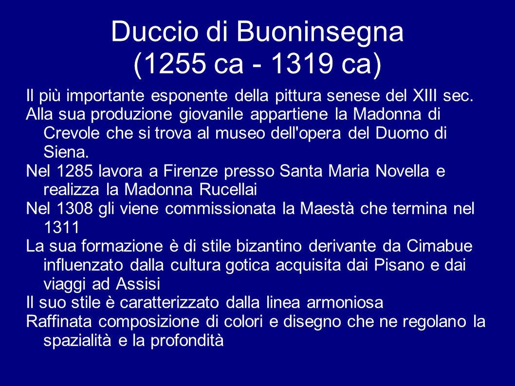 Duccio di Buoninsegna (1255 ca - 1319 ca)