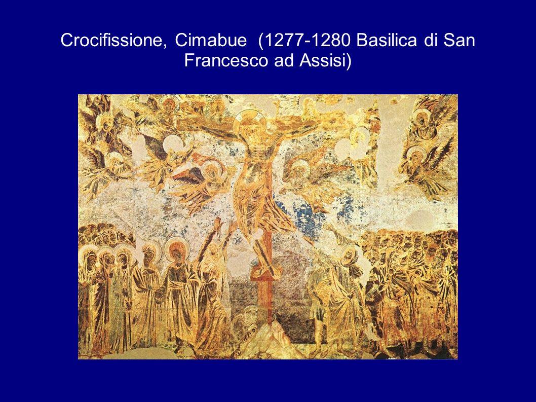 Crocifissione, Cimabue (1277-1280 Basilica di San Francesco ad Assisi)