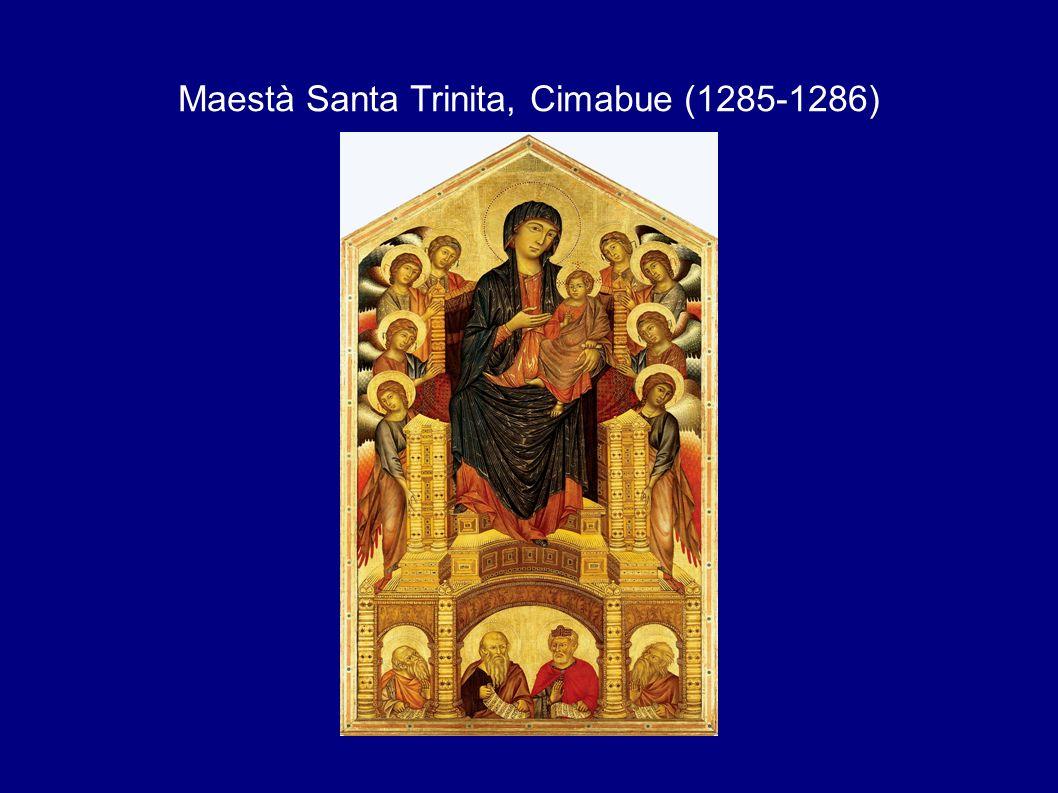 Maestà Santa Trinita, Cimabue (1285-1286)