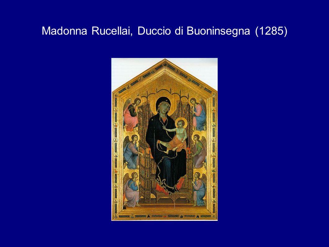 Madonna Rucellai, Duccio di Buoninsegna (1285)