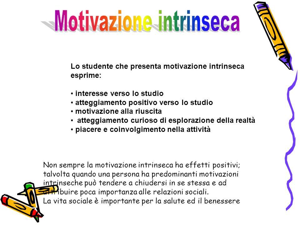 Motivazione intrinseca