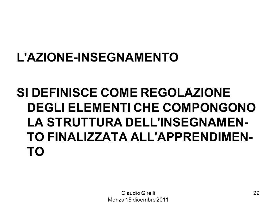 Claudio Girelli Monza 15 dicembre 2011