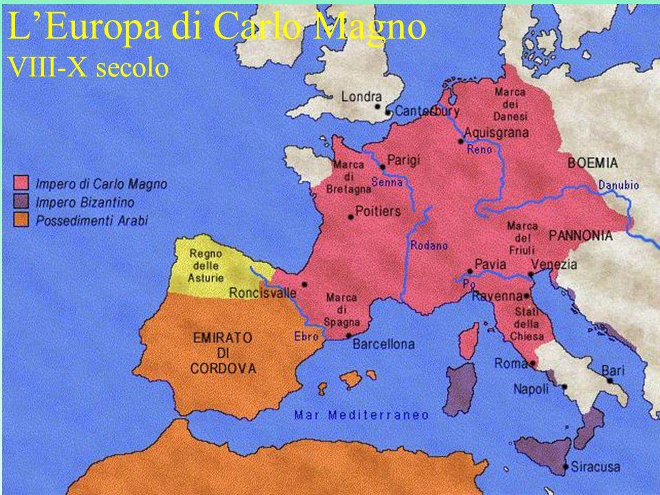 L'Europa di Carlo Magno VIII-X secolo