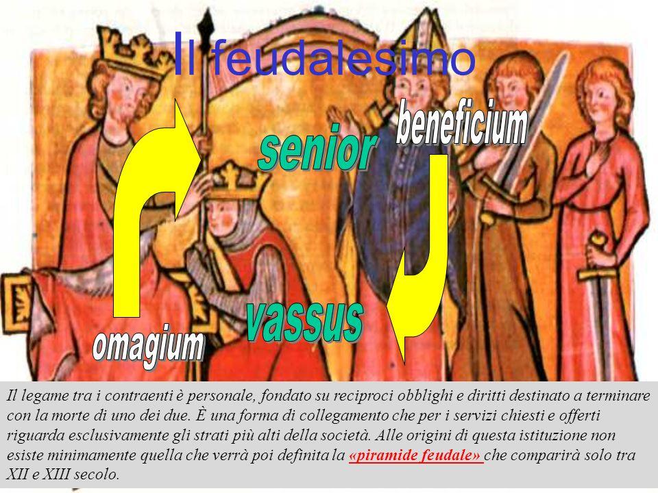 Il feudalesimo beneficium senior vassus omagium