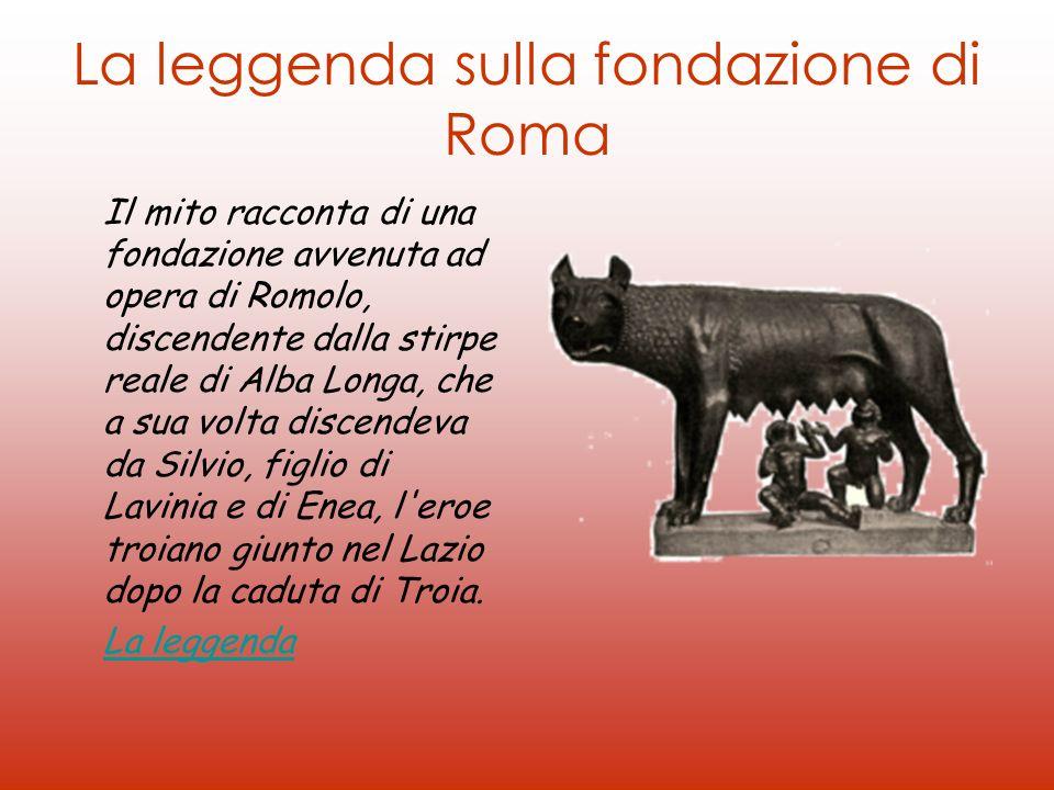 La leggenda sulla fondazione di Roma
