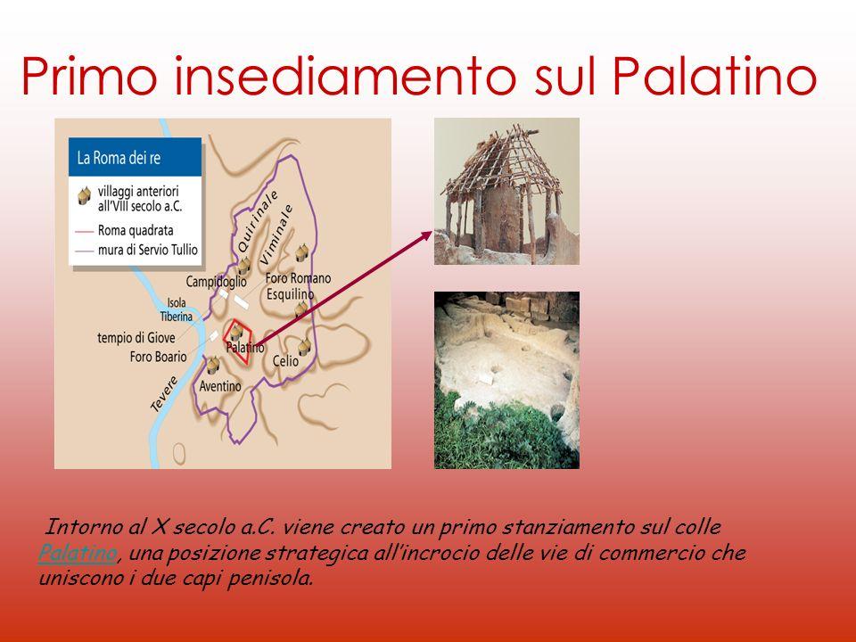 Primo insediamento sul Palatino