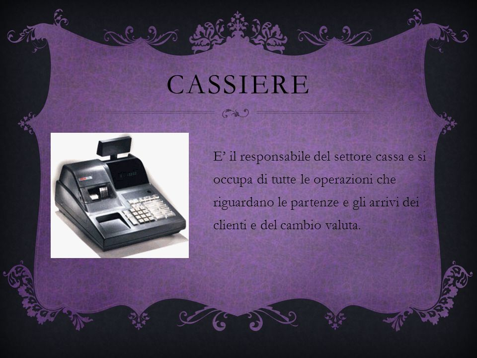 CASSIERE