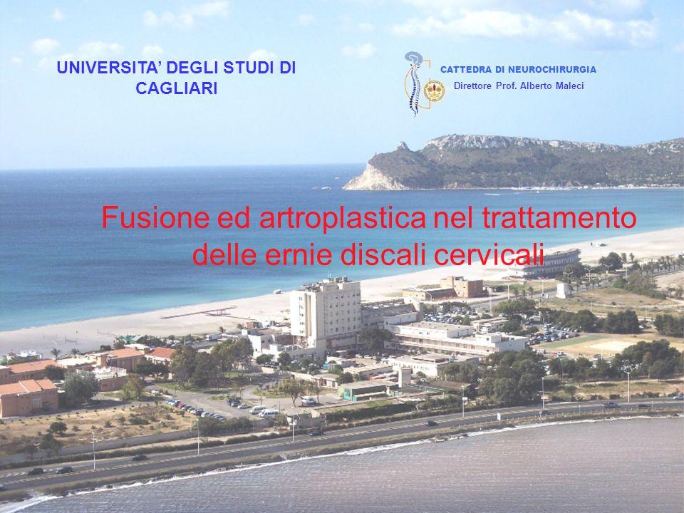 UNIVERSITA' DEGLI STUDI DI CAGLIARI Direttore Prof. Alberto Maleci
