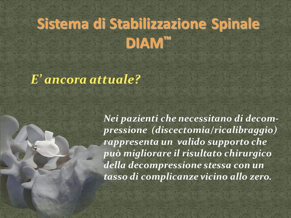Sistema di Stabilizzazione Spinale DIAM™