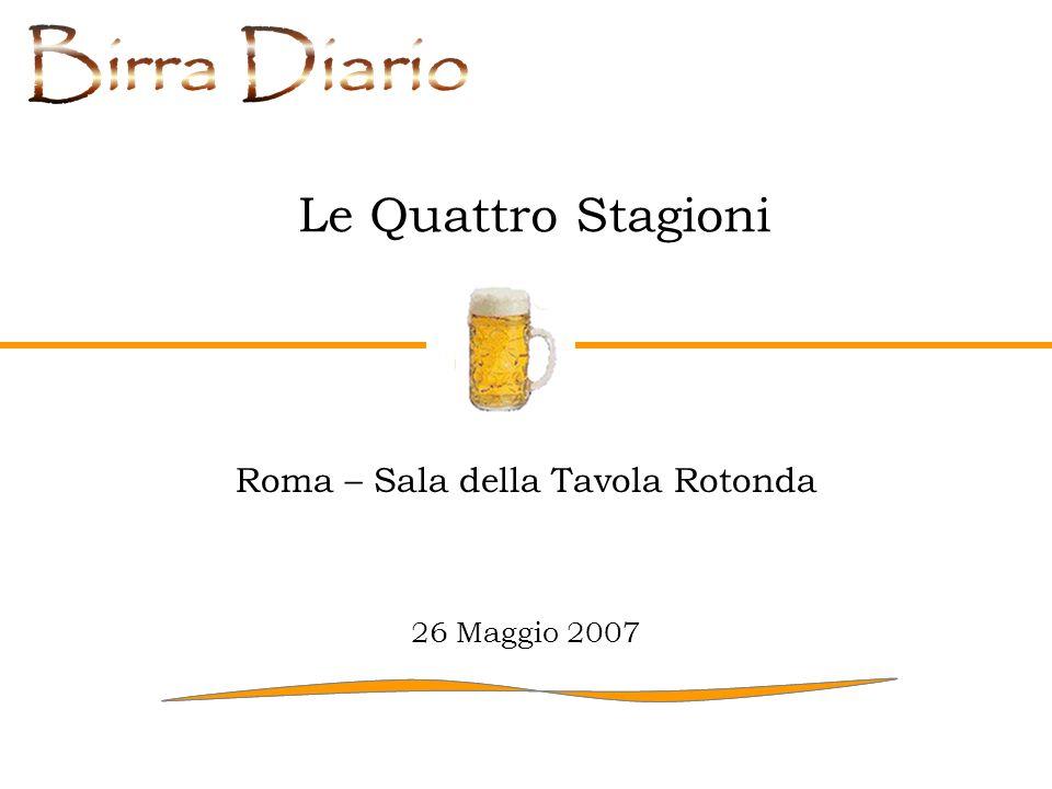 Roma – Sala della Tavola Rotonda