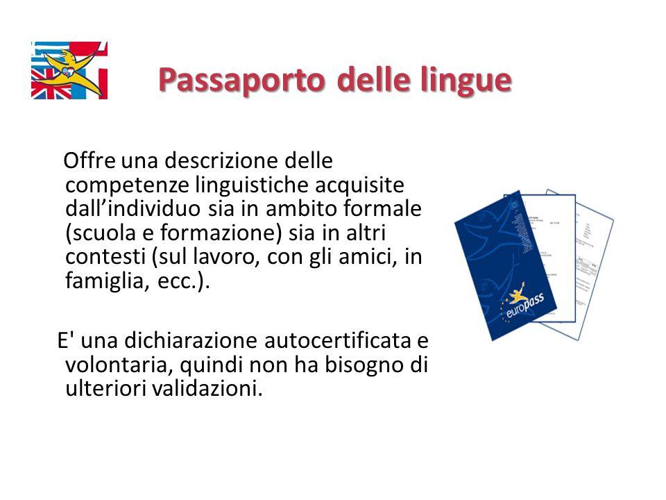 Passaporto delle lingue