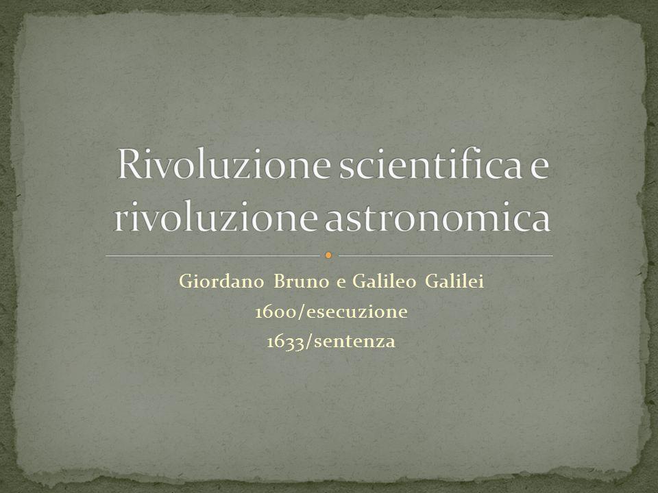 Rivoluzione scientifica e rivoluzione astronomica