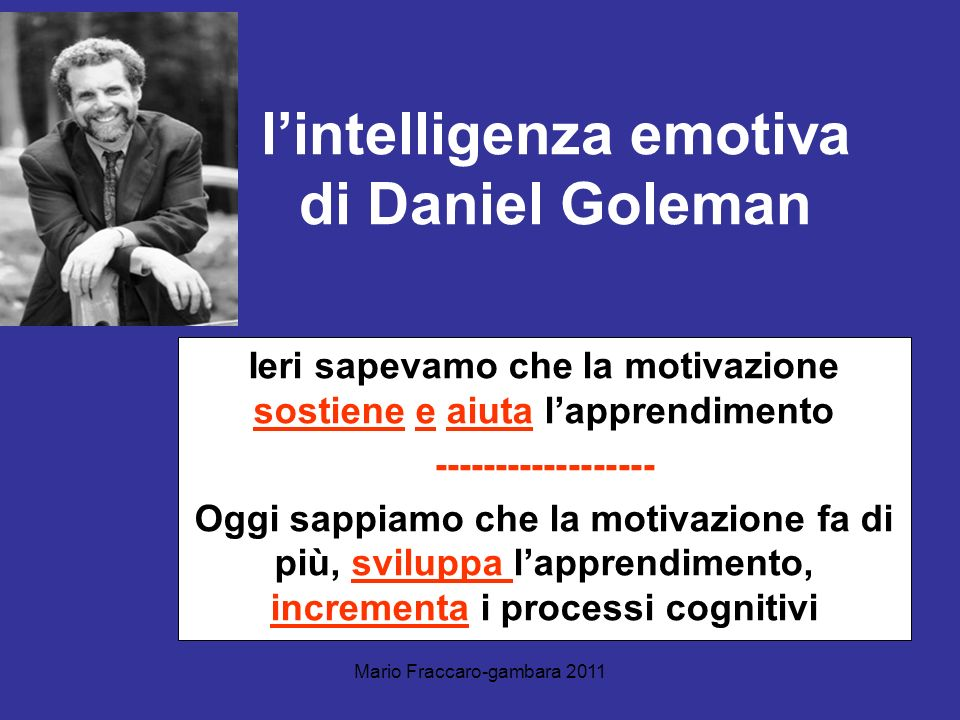 l'intelligenza emotiva di Daniel Goleman