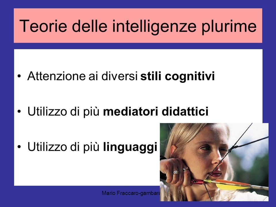 Teorie delle intelligenze plurime
