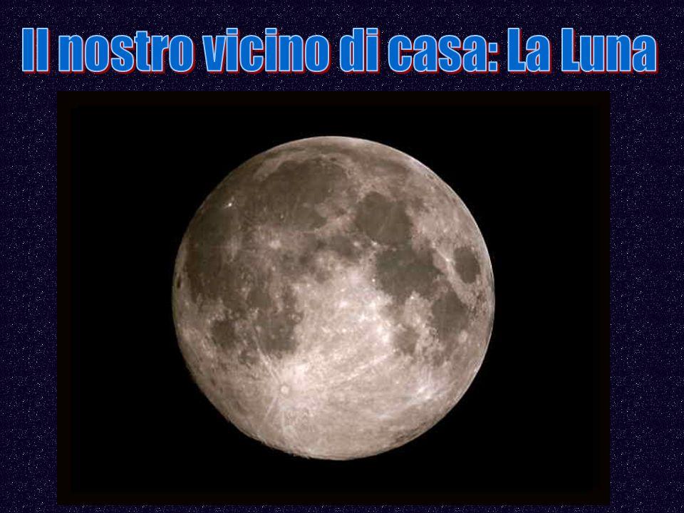Il nostro vicino di casa: La Luna