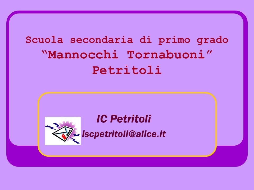Scuola secondaria di primo grado Mannocchi Tornabuoni Petritoli