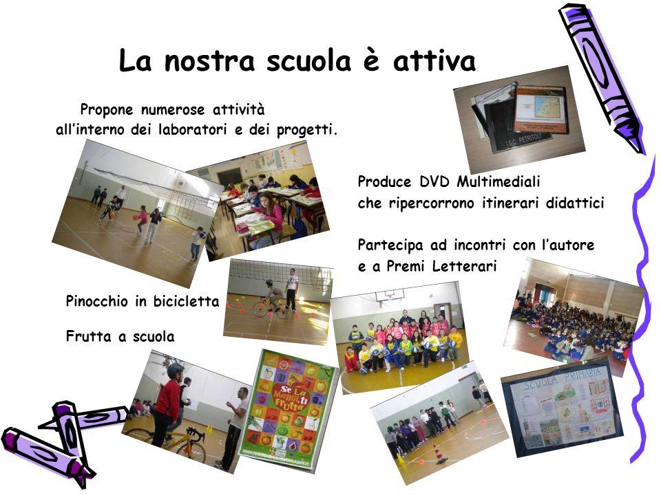 La nostra scuola è attiva