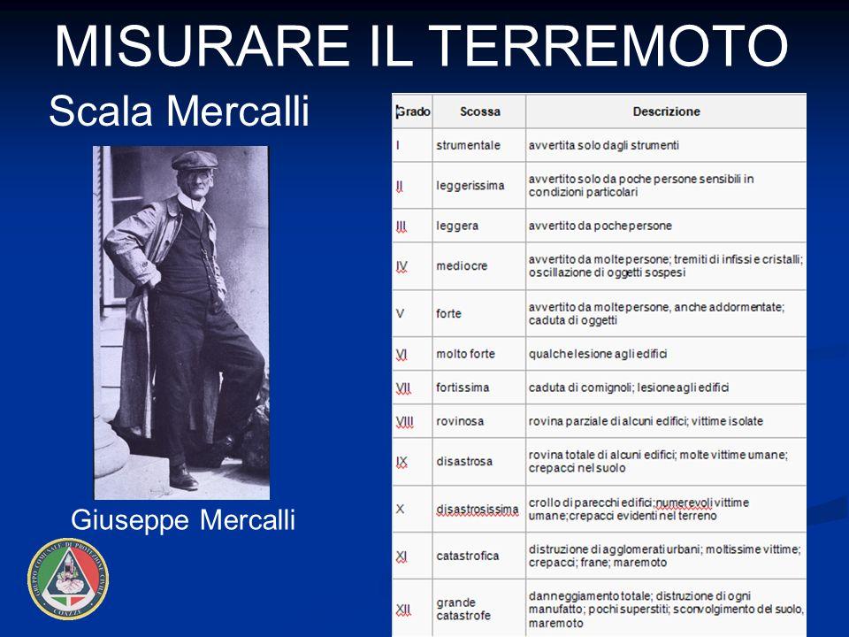 Misurare il terremoto Scala Mercalli Giuseppe Mercalli 12