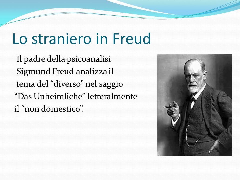 Lo straniero in Freud