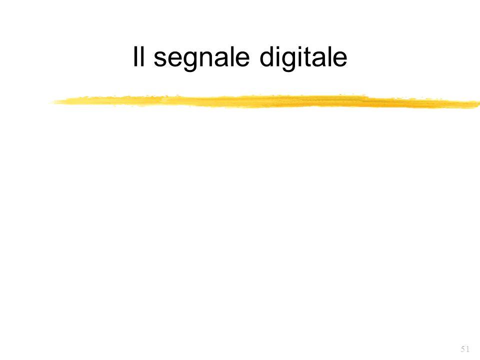 Il segnale digitale