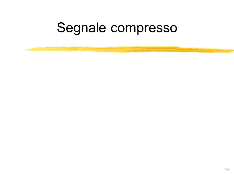 Segnale compresso
