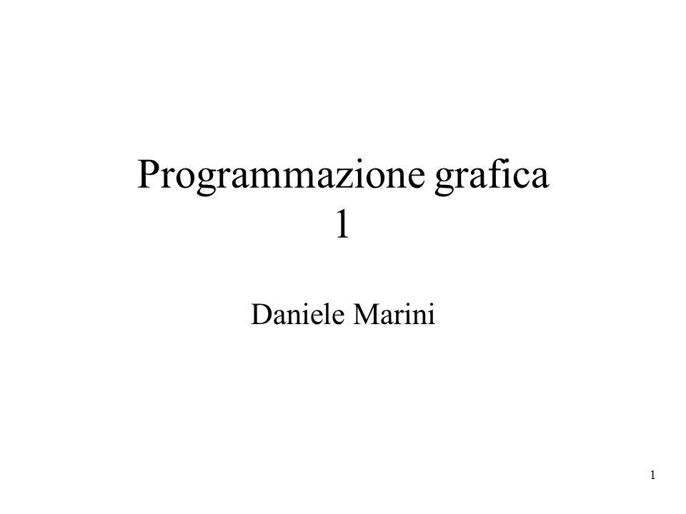 Programmazione grafica 1