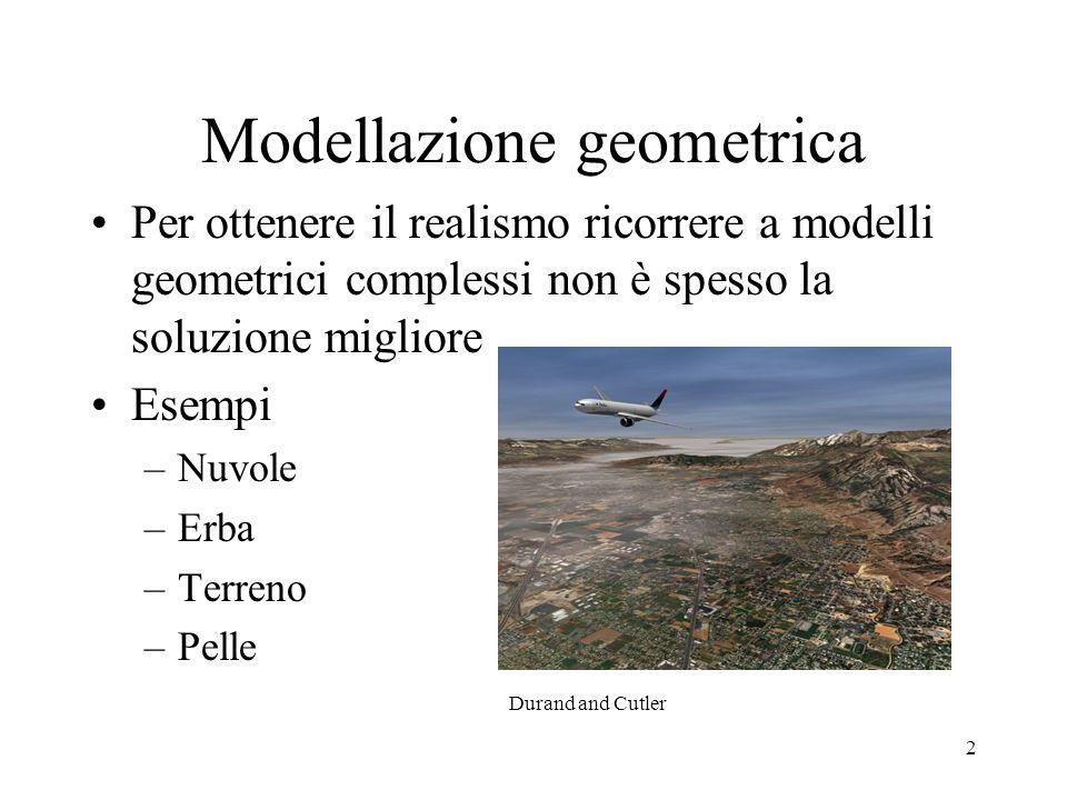 Modellazione geometrica