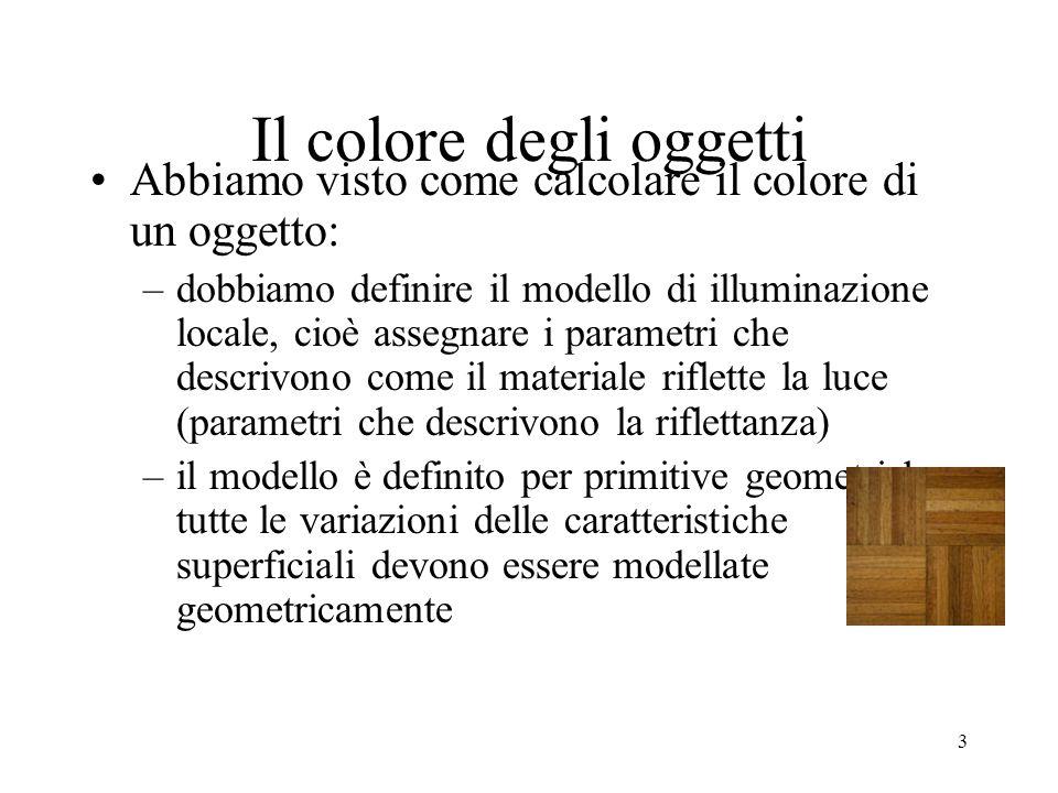Il colore degli oggetti
