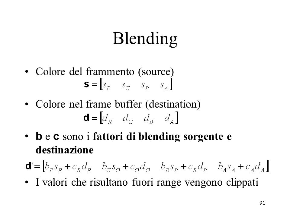 Blending Colore del frammento (source)