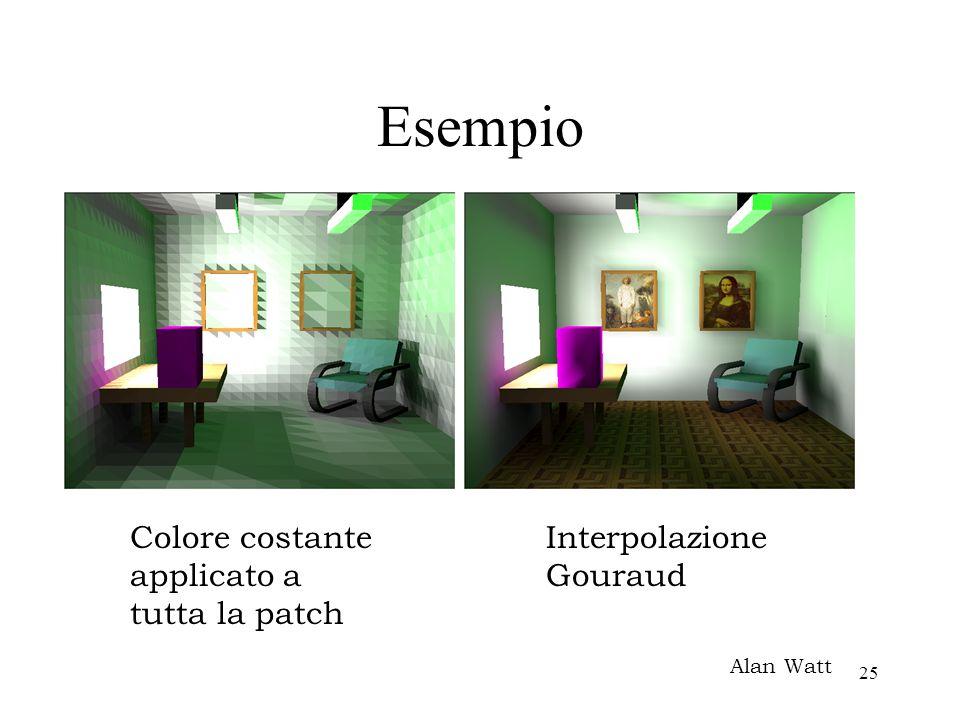 Esempio Colore costante applicato a tutta la patch