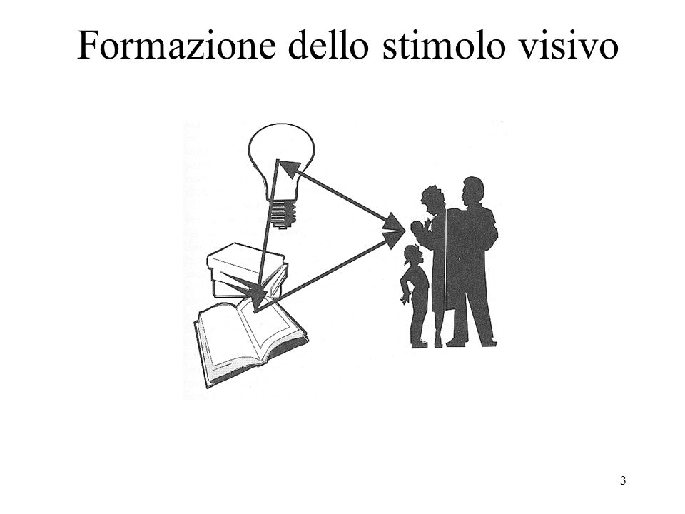 Formazione dello stimolo visivo