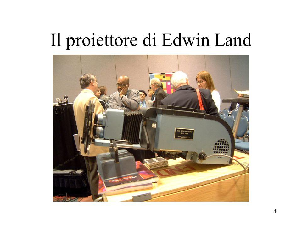 Il proiettore di Edwin Land
