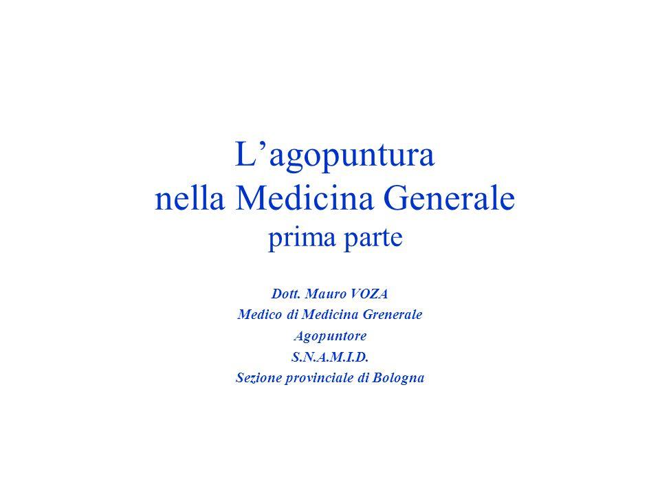 L'agopuntura nella Medicina Generale prima parte