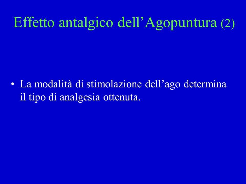 Effetto antalgico dell'Agopuntura (2)