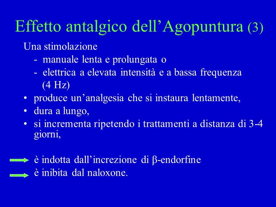 Effetto antalgico dell'Agopuntura (3)