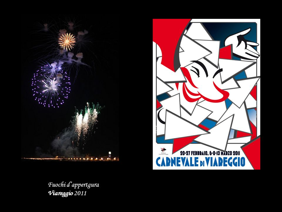 Fuochi d'appertgura Viareggio 2011