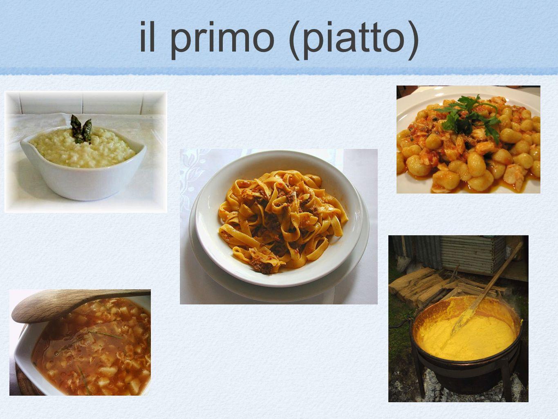 il primo (piatto)