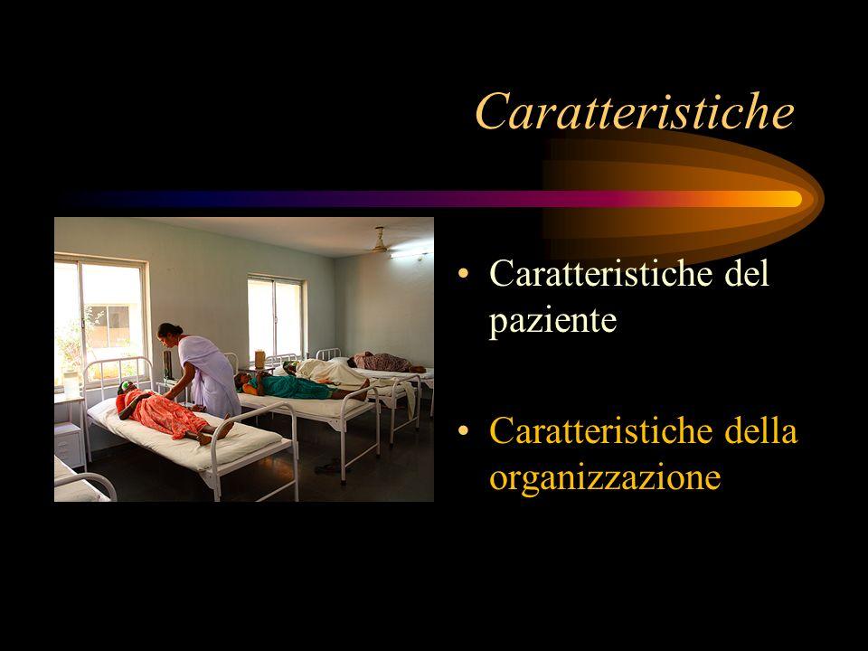 Caratteristiche Caratteristiche del paziente