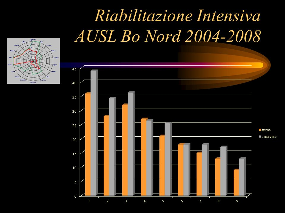 Riabilitazione Intensiva AUSL Bo Nord 2004-2008