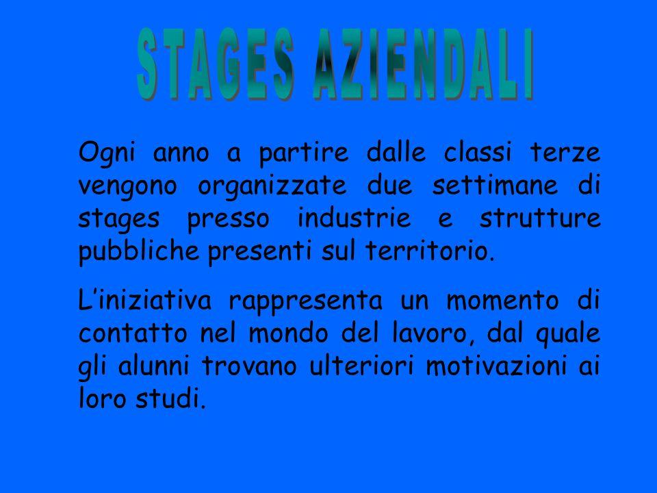 STAGES AZIENDALI