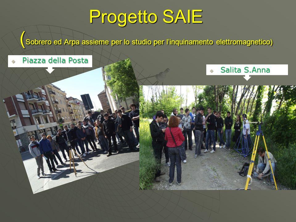 Progetto SAIE (Sobrero ed Arpa assieme per lo studio per l'inquinamento elettromagnetico)
