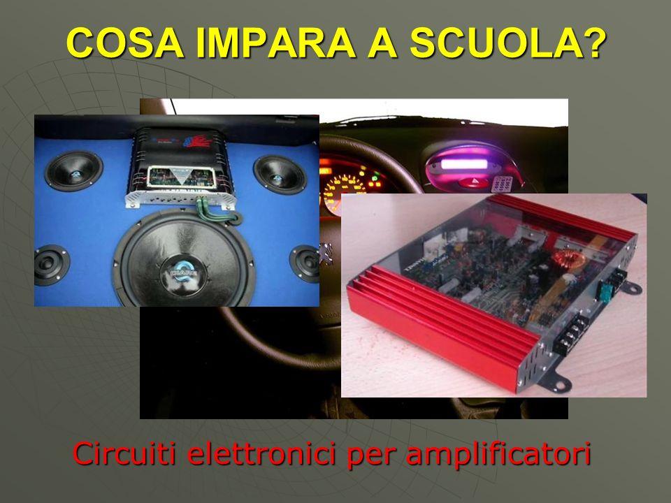 Circuiti elettronici per amplificatori