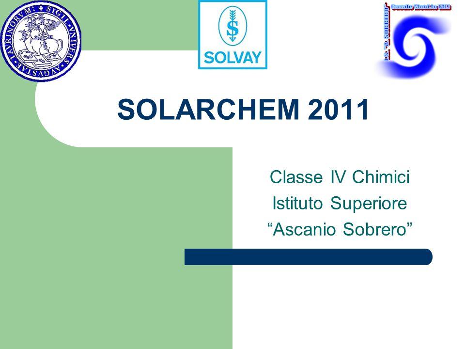 Classe IV Chimici Istituto Superiore Ascanio Sobrero